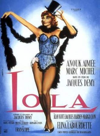 Lola (1961 film) - Image: Lola DV Dcover