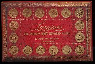 Longines - Vintage Longines box.