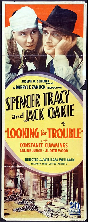 Looking for Trouble - Film poster