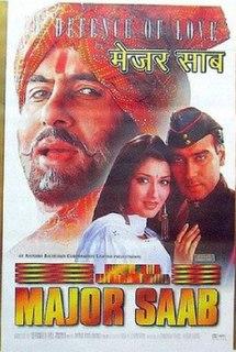 <i>Major Saab</i> 1998 Indian film