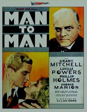Man to Man (1930 film) - Image: Man to Man 1930 Poster