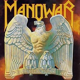 Battle Hymns (Manowar album) - Image: Manowar Battlehymns
