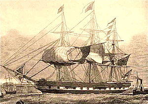 Marco Polo (1851 ship) - Image: Marcopoloclipper