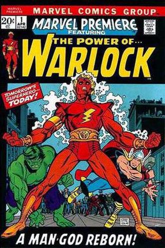 Adam Warlock - Image: Marvel Premiere 1