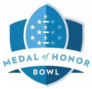 Medal of Honor Bowl - Image: Medal of Honor Bowl logo
