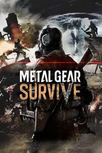 Metal Gear Survive - Image: Metal Gear Survive cover art
