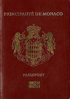 Monégasque passport