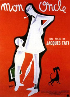 Mon Oncle - Theatrical release poster