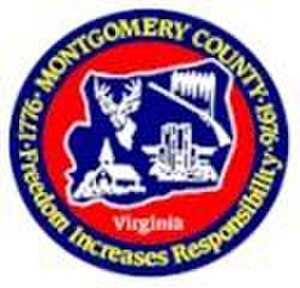 Montgomery County, Virginia - Image: Mont Co Seal