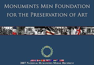 Monuments Men Foundation for the Preservation of Art Foundation