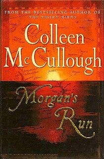 <i>Morgans Run</i> book by Colleen McCullough