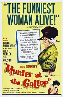 <i>Murder at the Gallop</i> 1963 film by George Pollock