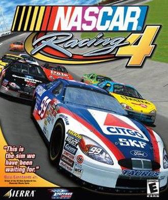 NASCAR Racing 4 - Image: NASCAR Racing 4 boxart