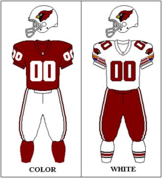 Arizona Cardinals - Phoenix Cardinals uniform: 1989–1995