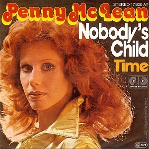 Nobody's Child (Penny McLean song) - Image: Nobodys Child single