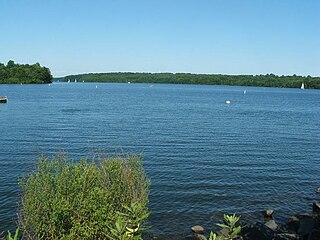 Lake Nockamixon lake of the United States of America