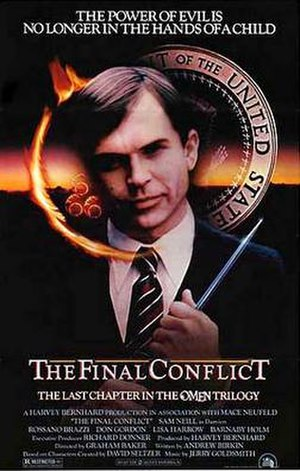 Omen III: The Final Conflict - Theatrical release poster