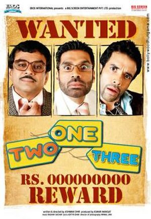 One Two Three - Theatrical release poster