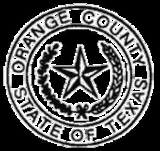 Orange County, Texas - Image: Orange County, Texas seal