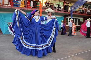 La Esperanza, Honduras - Dancers in the national dance festival, El Grande de Grandes