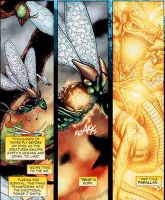 Parallax (comics) - The birth of Parallax.