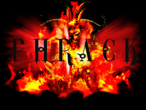 Phrack - Phrack logo used on Phracks website.