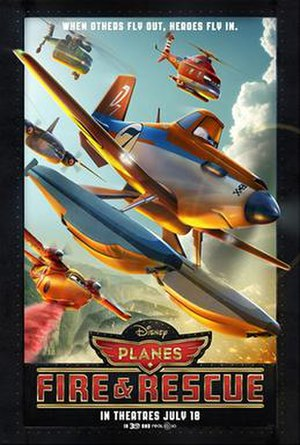 Planes: Fire & Rescue - Theatrical release poster