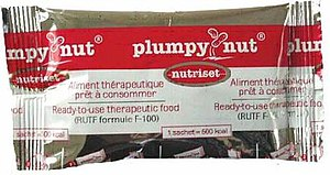 Plumpy'nut - Image: Plumpy'nut wrapper