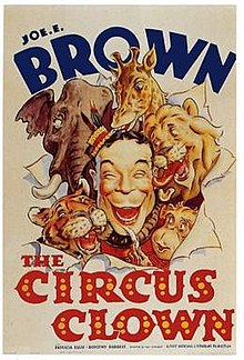 Poster of the movie The Circus Clown.jpg
