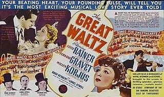 <i>The Great Waltz</i> (1938 film) 1938 American film