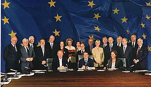 Prodi Commission - The Prodi Commission in 1999