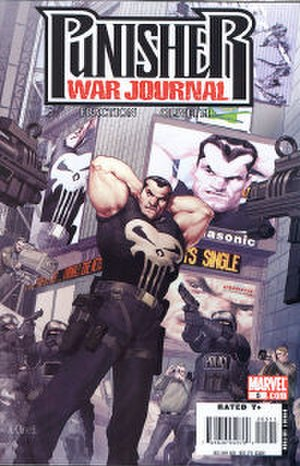 The Punisher War Journal - Image: Punisher WJ Vol 2No 5