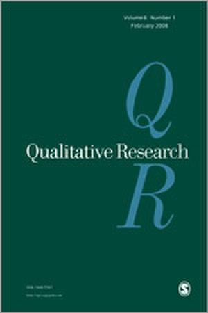 Qualitative Research (journal) - Image: Qualitative Research