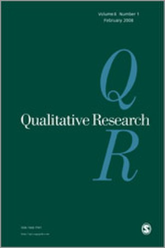 Qualitative Research (journal) - Image: Qualitative Research