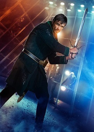 Ra's al Ghul - Matthew Nable as Ra's al Ghul in the television series Arrow.