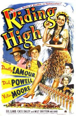 Riding High (1943 film) - Image: Riding high