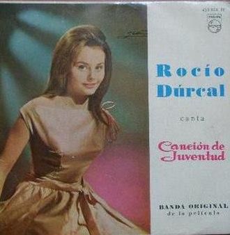Canción de Juventud - Image: Rocío Dúrcal CJ