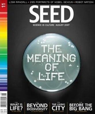 Seed (magazine) - August 2007 (vol. 11)