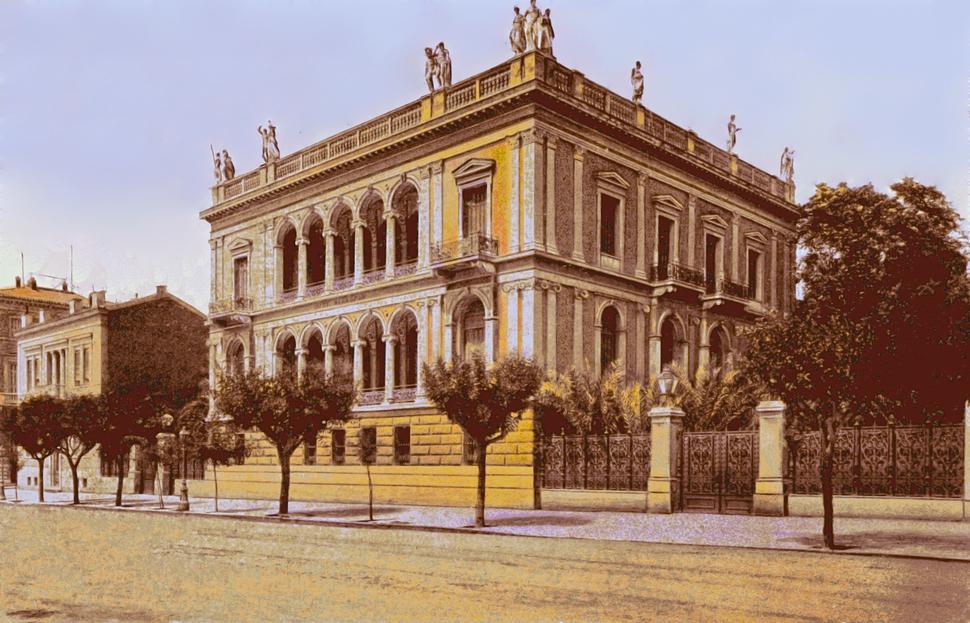 Schliemann mansion 1900