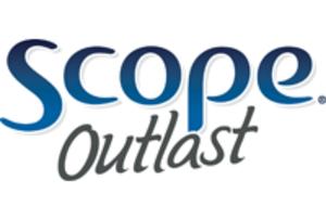 Scope (mouthwash) - Scope Outlast logo (2009–present)