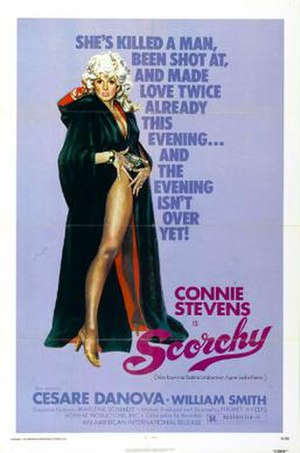 Scorchy - Theatrical release poster
