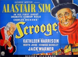 Scrooge (1951 film) - UK quad poster