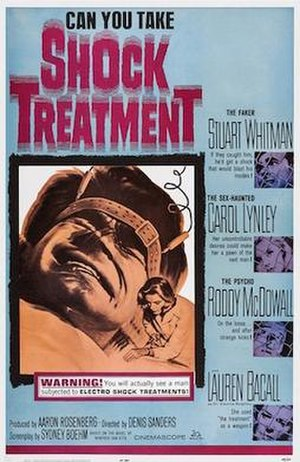Shock Treatment (1964 film) - Theatrical poster