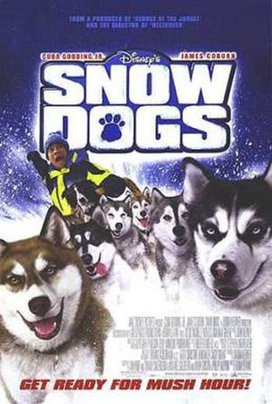 Snow Dogs - Theatrical release poster