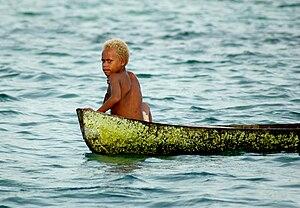 Malaita - Malaitan child