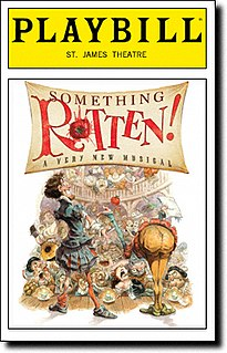<i>Something Rotten!</i> musical