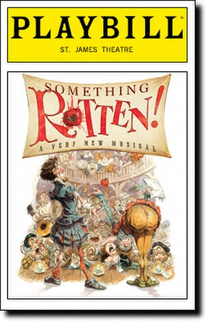 Something Rotten! - 2015 Broadway Playbill