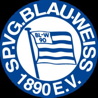 SpVgg Blau-Weiß 1890 Berlin - Image: Sp Vgg Blau Weiß Berlin