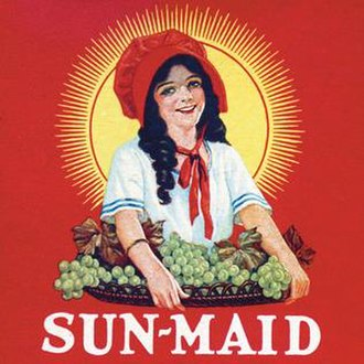 Sun-Maid - Image: Sun Maid brand logo used in 1923