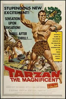 Tarzan the Magnificent (1960 film) poster.jpg